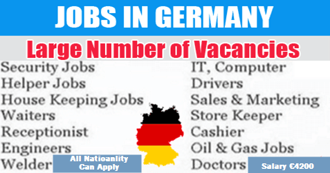 Multiple Vacancies In Germany | Job Offers worldwide