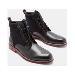 Photo of Polished Leather Ankle Boots Ted BakerTed Baker