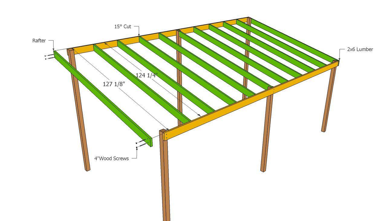 Wooden Carport Plans Carport plans, Wooden carports