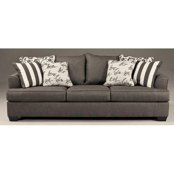 7340338 Ll 734 S Levon Charcoal Sofa Ashley Charcoal Sofa Sofa