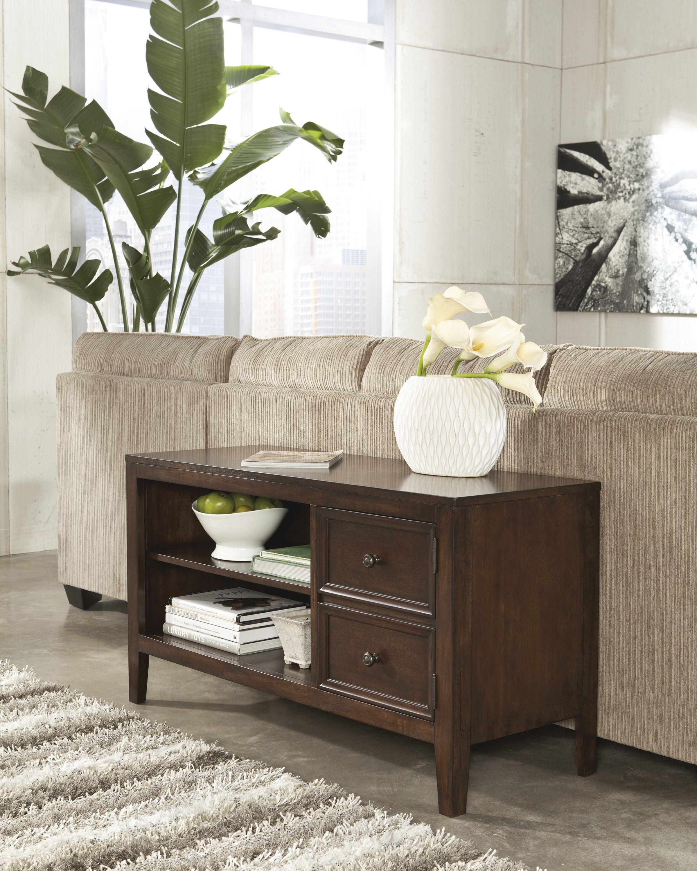 Ashley furniture sofa table/tv console SheelysFurniture