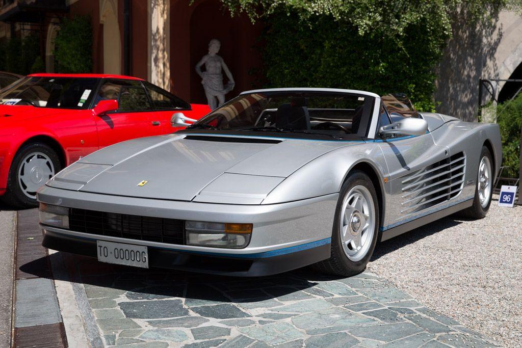 1986 Ferrari Testarossa Spider Ferrari Testarossa Ferrari Car Features