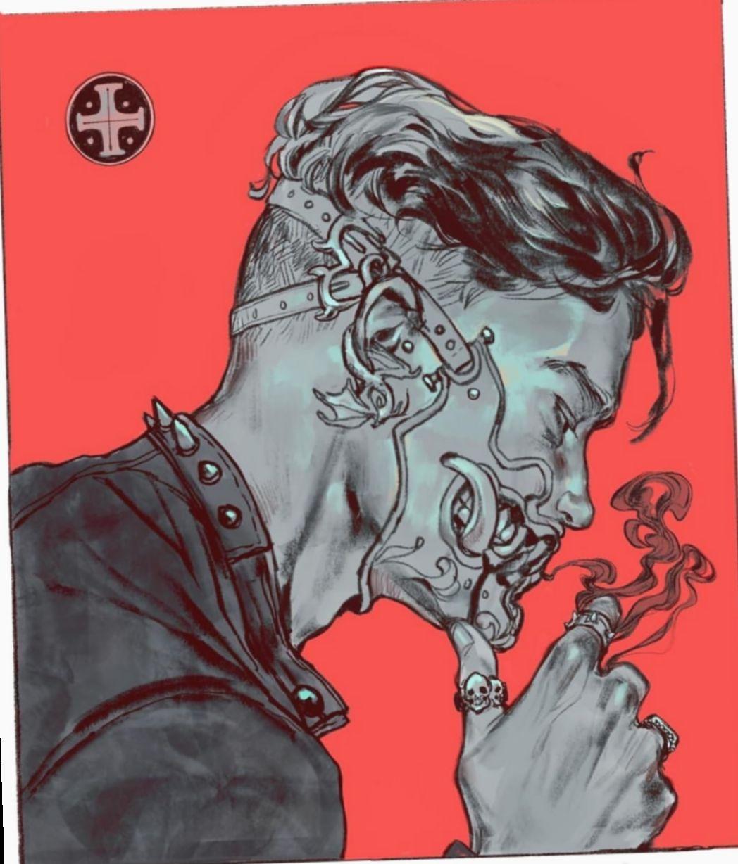 17 Anime Face Mask Boy Cyberpunk Art Aesthetic Art Drawings