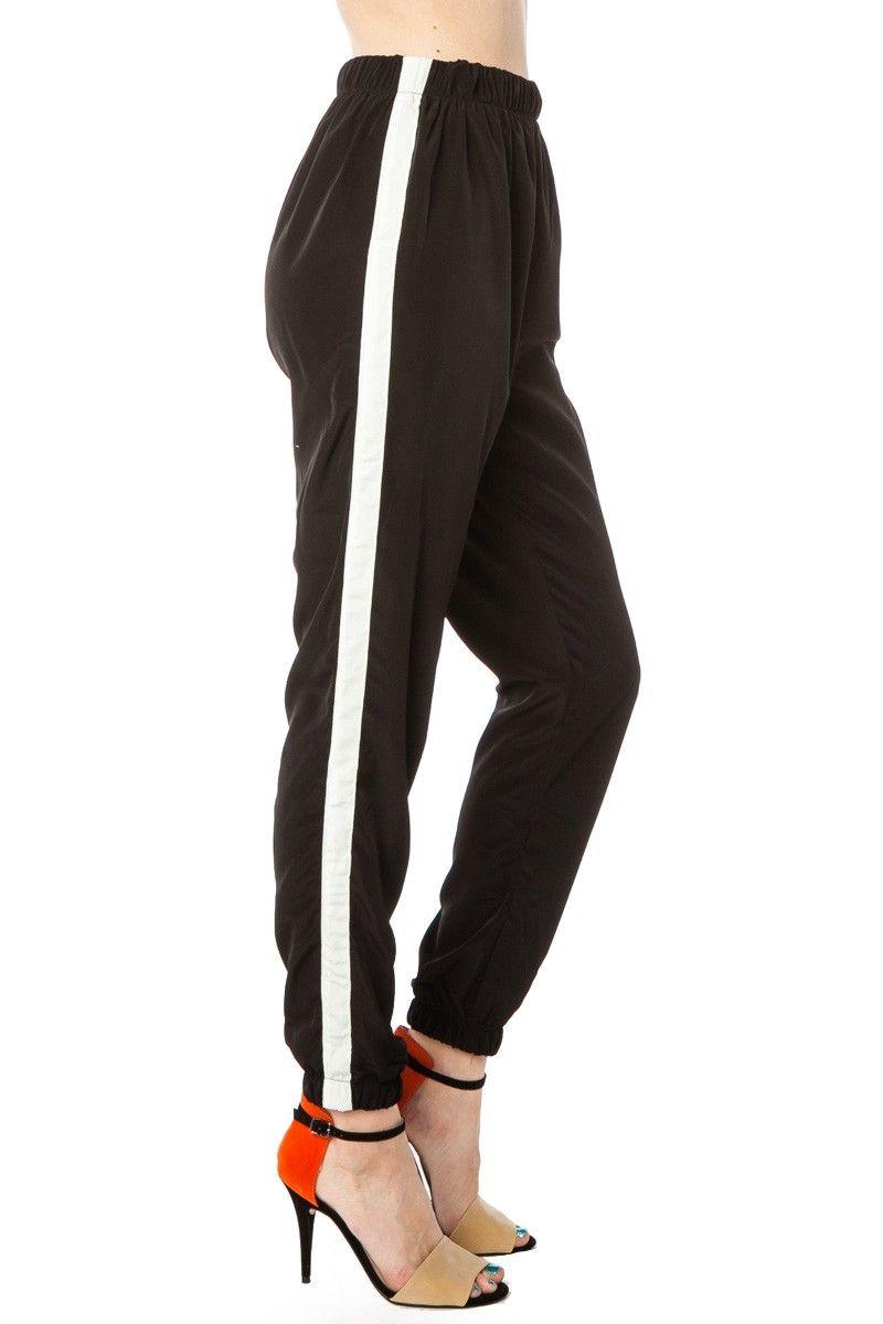 Tux Stripe Pant / ShopSosie #Tux #Stripe #Trouser #HIgh-Waisted #Pant #ShopSosie