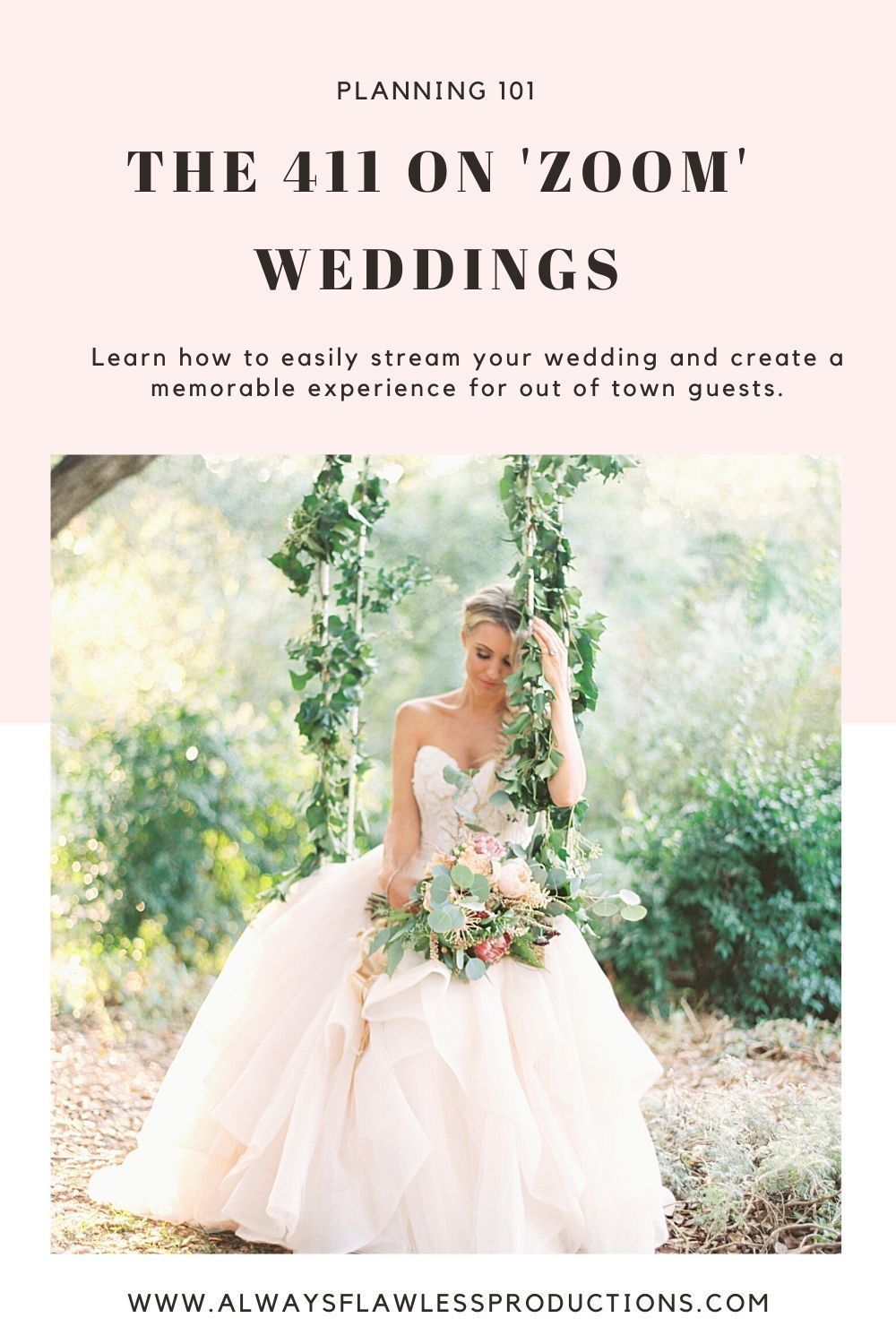 Learn How To Live Stream Your Wedding Wedding Planning Tips Tricks And Advice In 2020 Wedding Ethereal Wedding Wedding Planning Tips