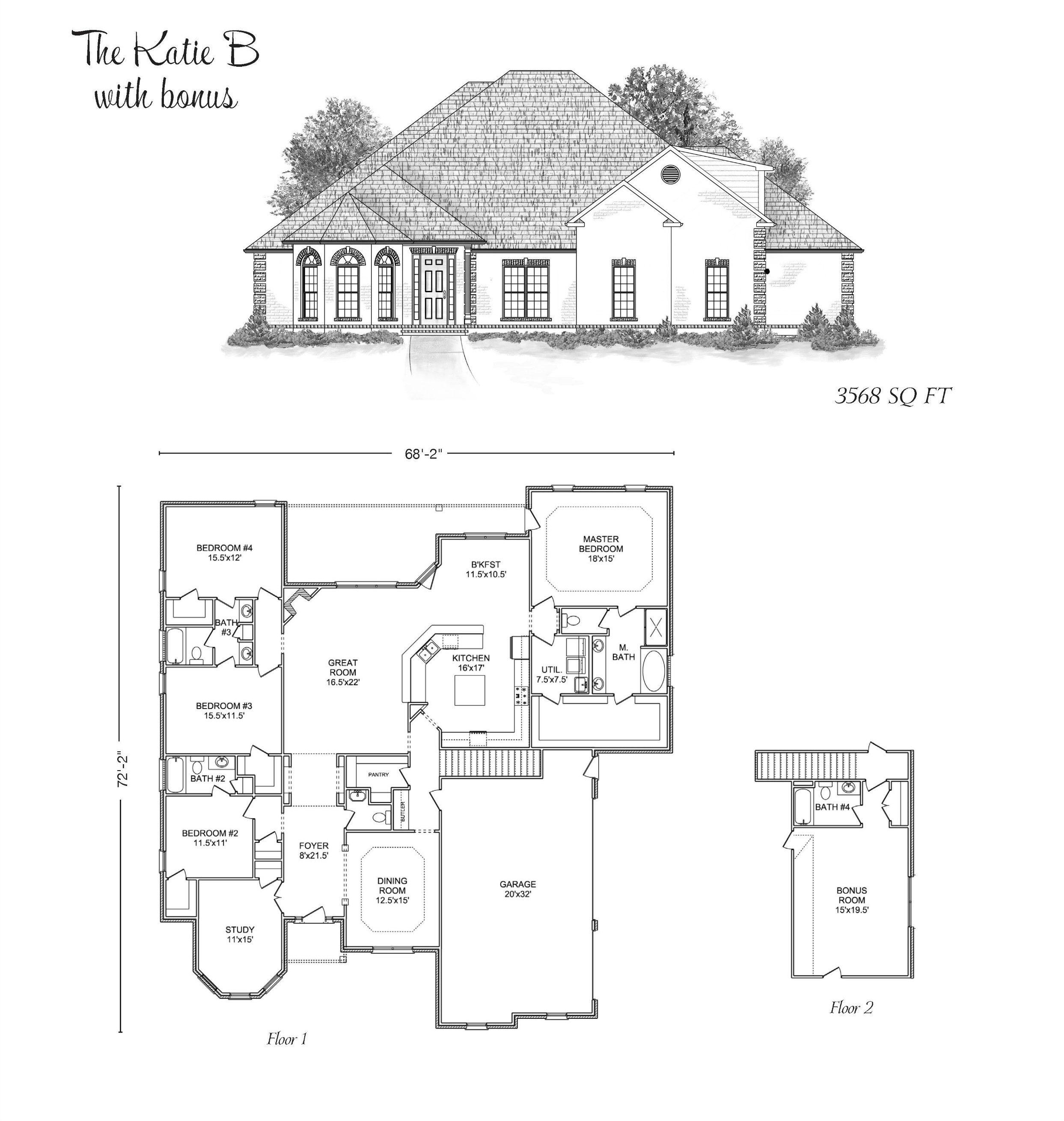The Katie Stoneridge Homes Huntsville Al Custom Home Builders And Madison County Alabama