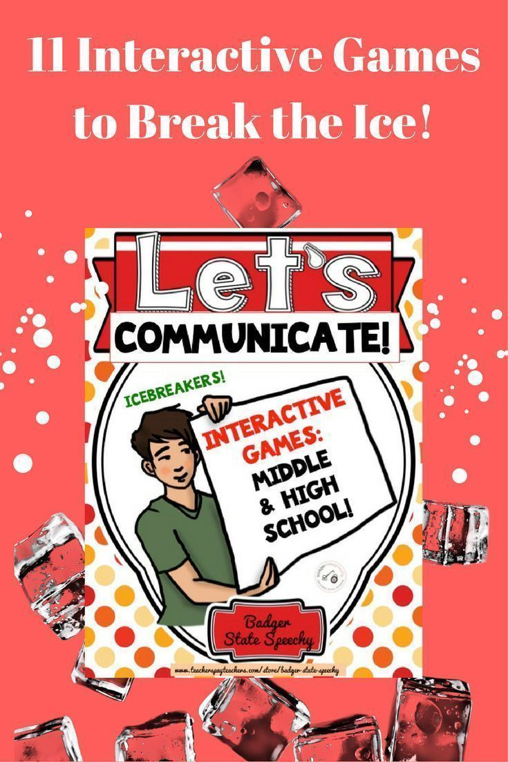 Let's Communicate! Icebreakers & Interactive Games for