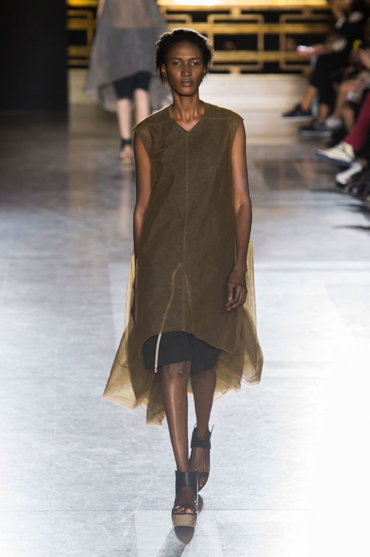 Rick Owens spring 2015 collection show