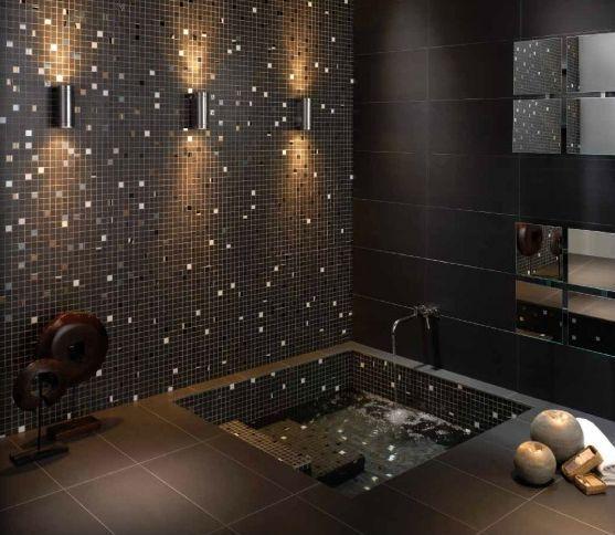 Azulejos para ba os peque os modernos bathroom for Mosaicos banos modernos