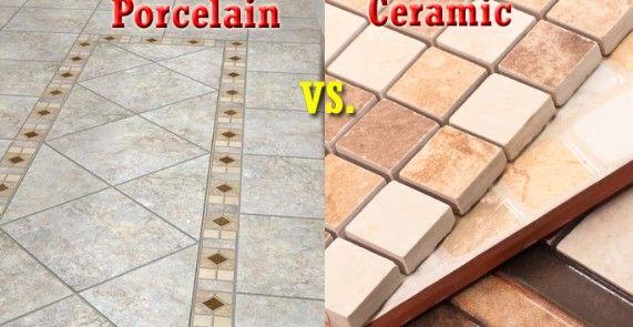 Ceramic Tiles Vs Porcelain Tiles