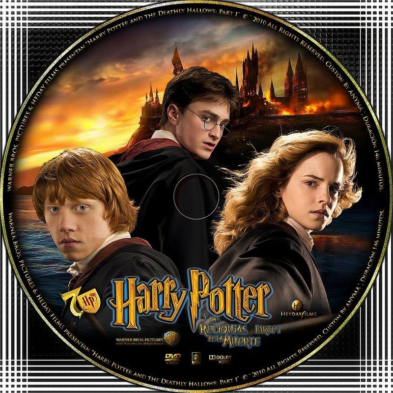 Harry Potter Y Las Reliquias De La Muerte Parte 1 2010 Harry Potter Deathly Hallows Movie Posters