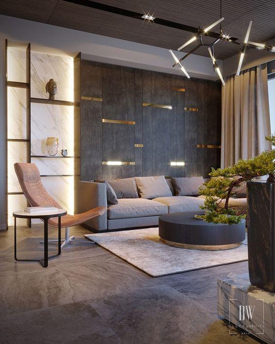 52 Amazing Living Room Design Ideas - DECOONA