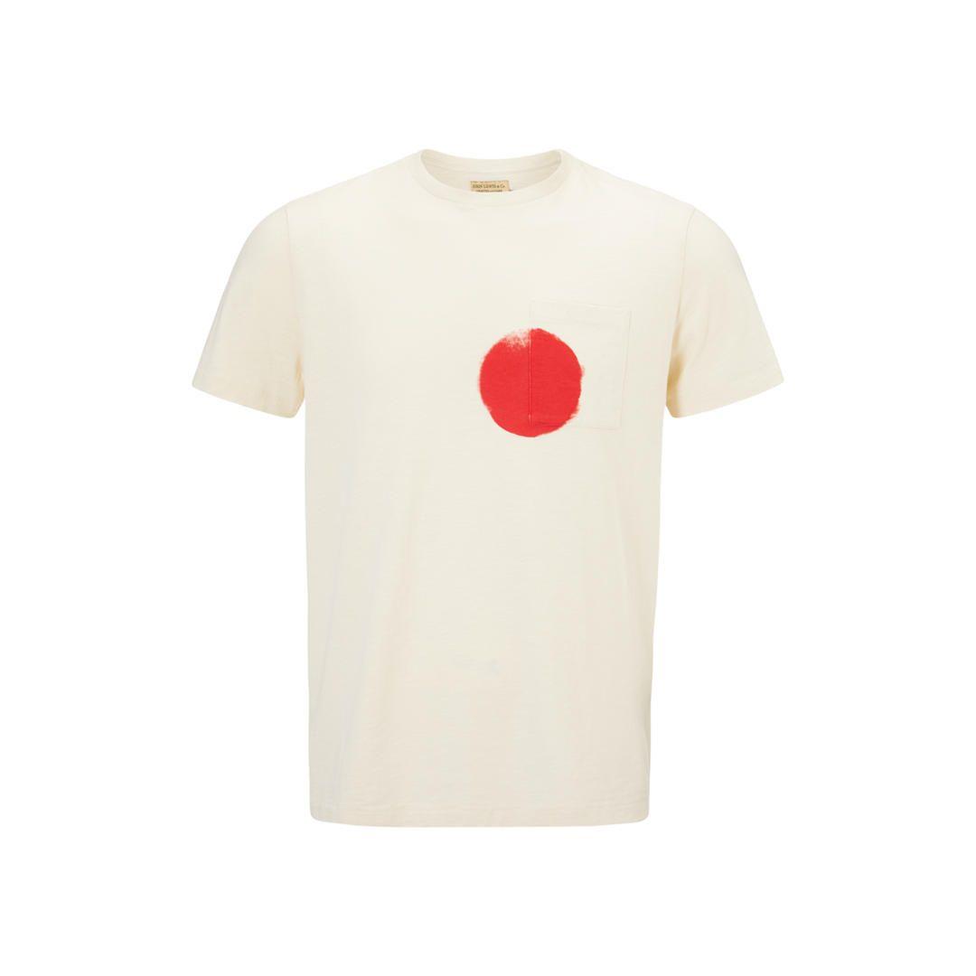 f4d80752597d JOHN LEWIS & Co. Sun Print Pocket T-Shirt, Ecru in 2019 | Футболки ...