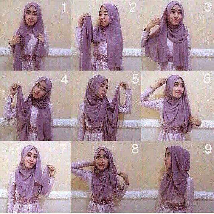 Cara Memakai Hijab Pashmina Praktis Untuk Tampil Modis Model