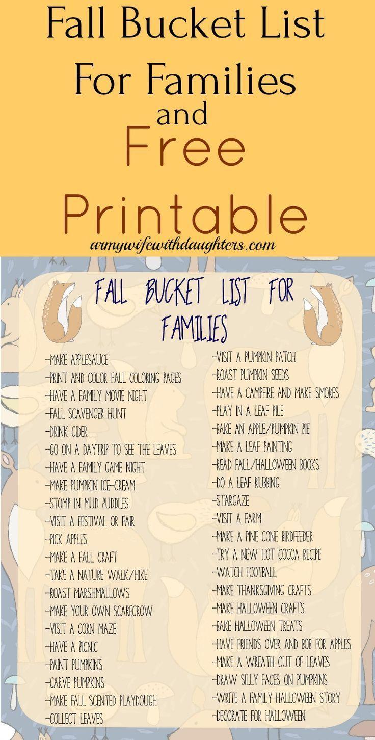 Herbst Familie Bucket List. Herbstaktivitäten. Familie. Erziehung. Aktivitäten für Kinder. Fr... Herbst Familie Bucket List. Herbstaktivitäten. Familie. Erziehung. Aktivitäten für Kinder. Fr ... -,