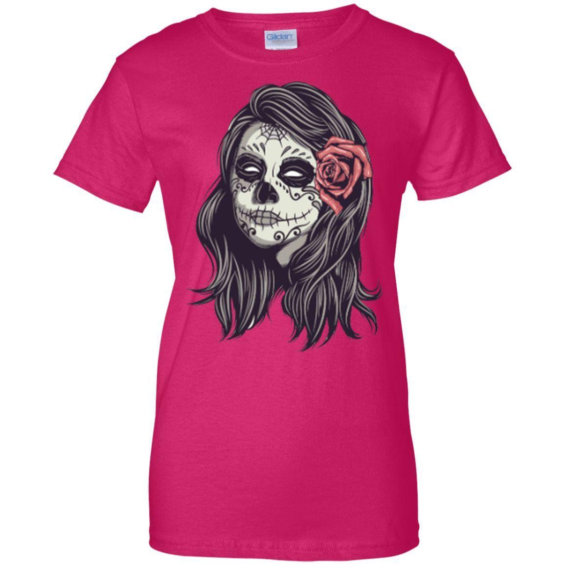 Ladies Dia De Muertos Shirt