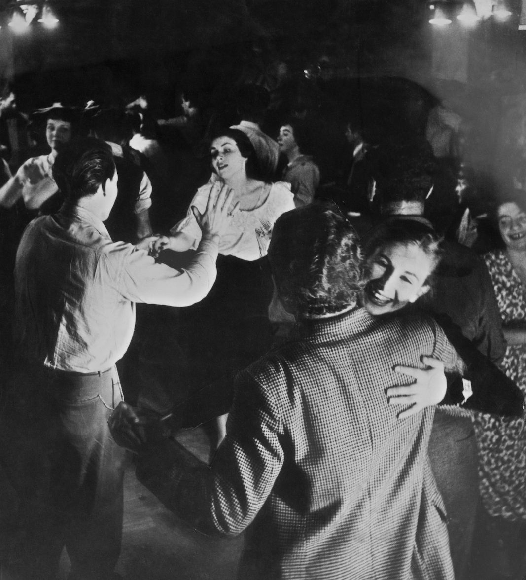 12th November 1949: Jazz Fans Dance The Night Away To The