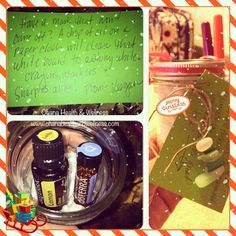 Kids gifts for their teachers....dry erase markers, lemon or wild orange essential oil, peppermint beadlets and @seakissedbykris keychain in a small mason jar...complete with a homemade poem on how to use the oil to clean their dry erase boards. Hope they love it! #giftideas #teachergift #keychain #beachglass #lemonoil #wildorange oil #personalizedgifts #peppermint @doterra #ohanahealth #masonjar #reducereuserecycle #homemade