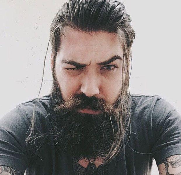 Samurai Ponytail Long Beard Styles Long Beards Beard Styles
