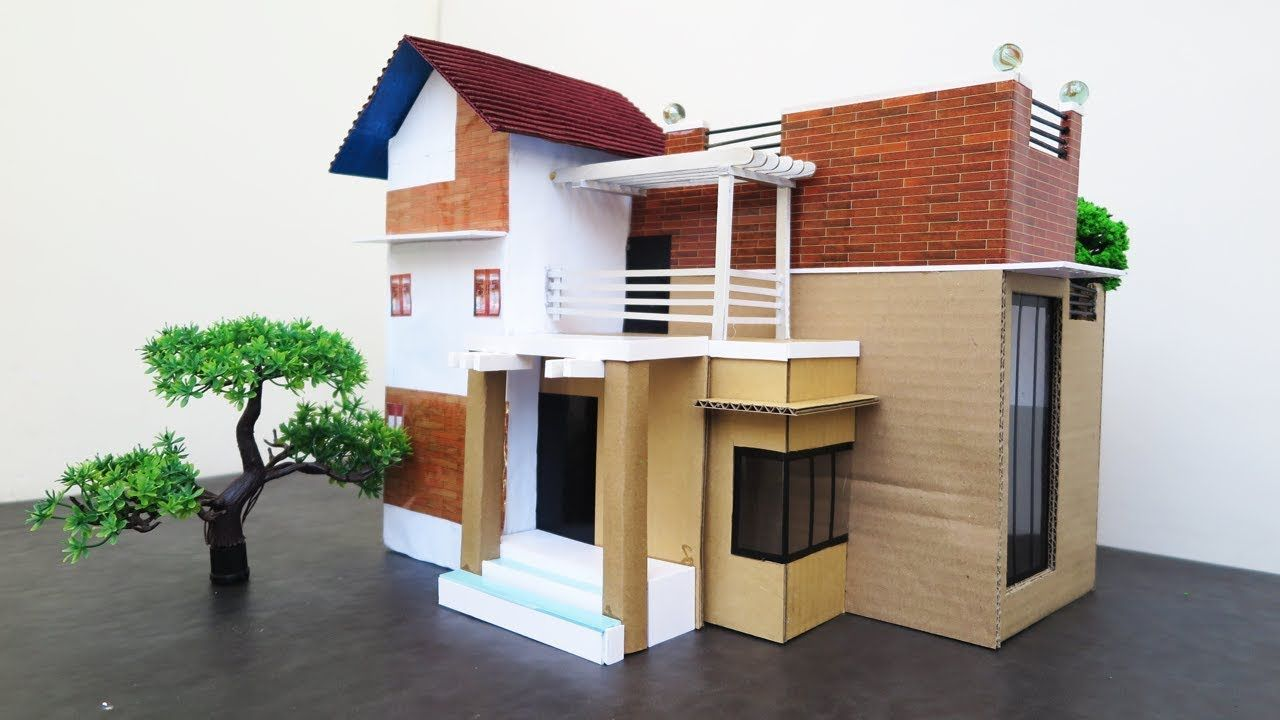 How To Make A Beautiful Modern House From Cardboard Trailers Dreamho Design Your Dream House House Architecture Design Architectural Design House Plans