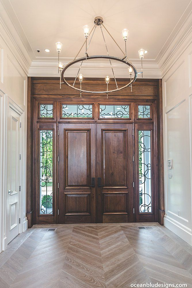 REPIN, Save for later! ~ Foyer Entrance Design Luxury Home Staircase ...