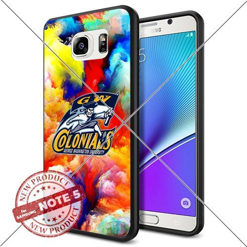NEW George Washington Colonials Logo NCAA #1148 Samsung Note5 Black Case Smartphone Case Cover Collector TPU Rubber original by WADE CASE [Colorful] WADE CASE http://www.amazon.com/dp/B017KVMQYO/ref=cm_sw_r_pi_dp_QXgzwb06VP1RN