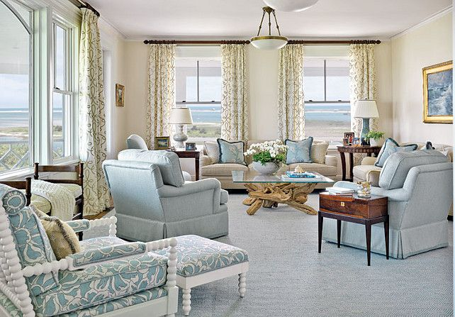 the 3 keys to coastal interior design | coastal living rooms