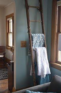 Old Ladder Ideas Old Ladder Decor Ladder Decor Decor