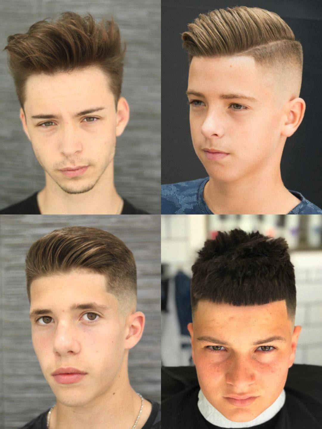 33 Cooler Than Ever Haircuts For Teenage Guys | Hard part ...