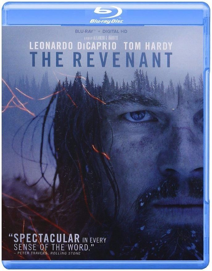 The Revenant Blu-ray Disc, 2016, Includes Digital Copy