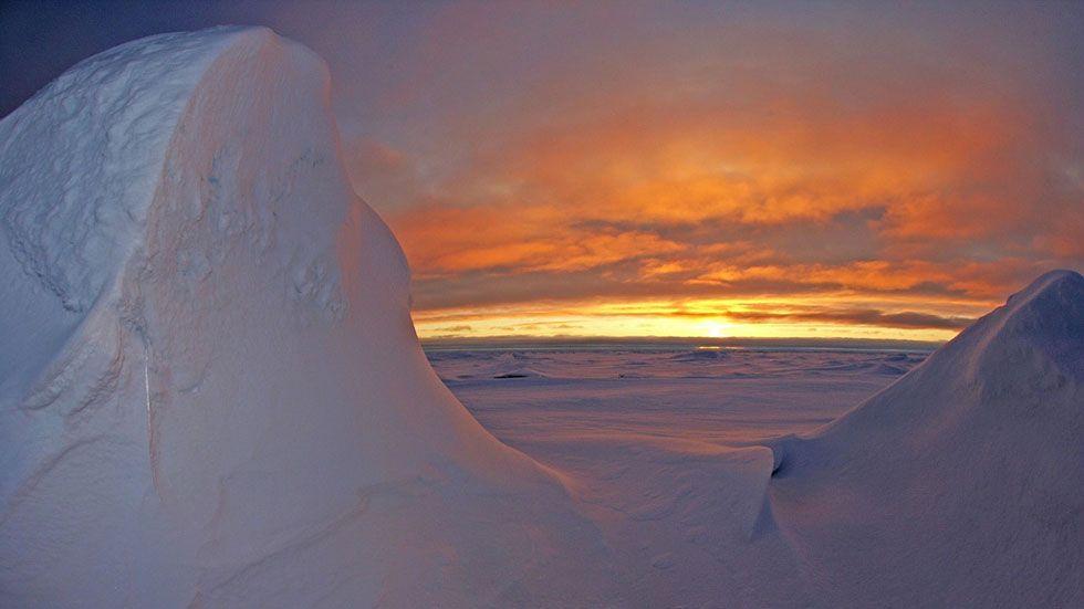 Los efectos del cambio climático se notan cada vez mas en el Circulo Polar Artico