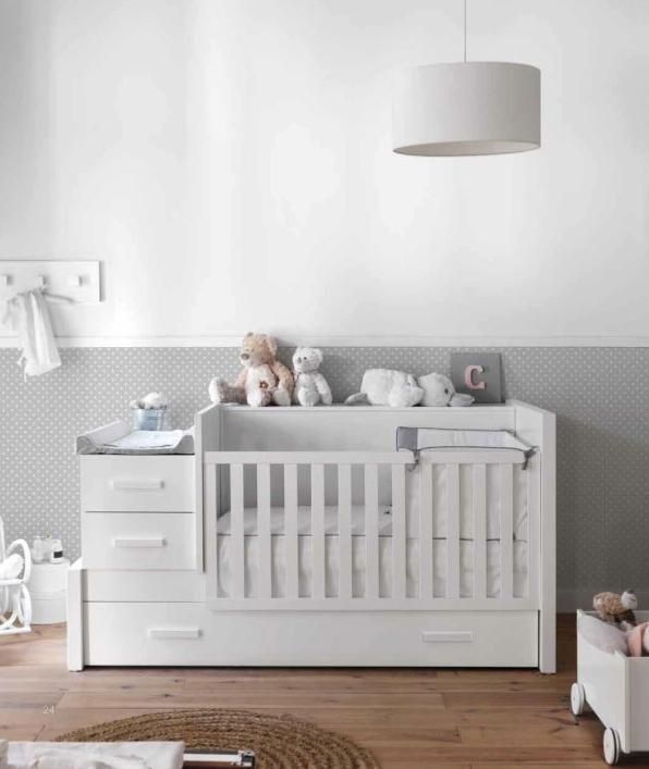 Crib with changing table a candobaby fave kids bedrooms - Baby jungenzimmer ...
