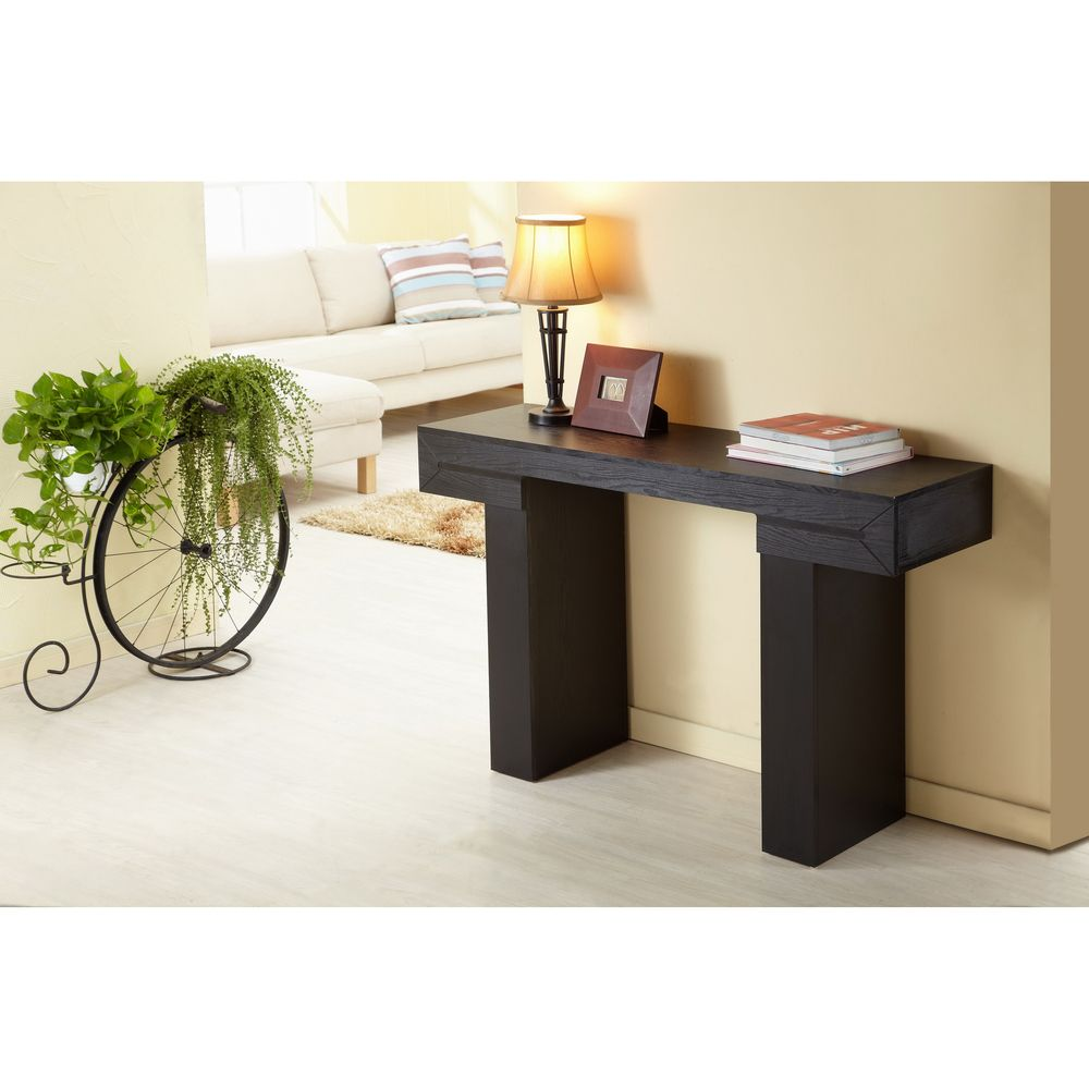 Enitial lab tiffy tee black finish sofa table overstock enitial lab tiffy tee black finish sofa table overstock geotapseo Choice Image