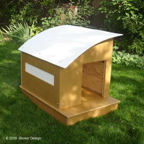 diy dog house out of a plastic barrel barrels dog