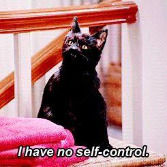 Soy un animal. No tengo autocontrol