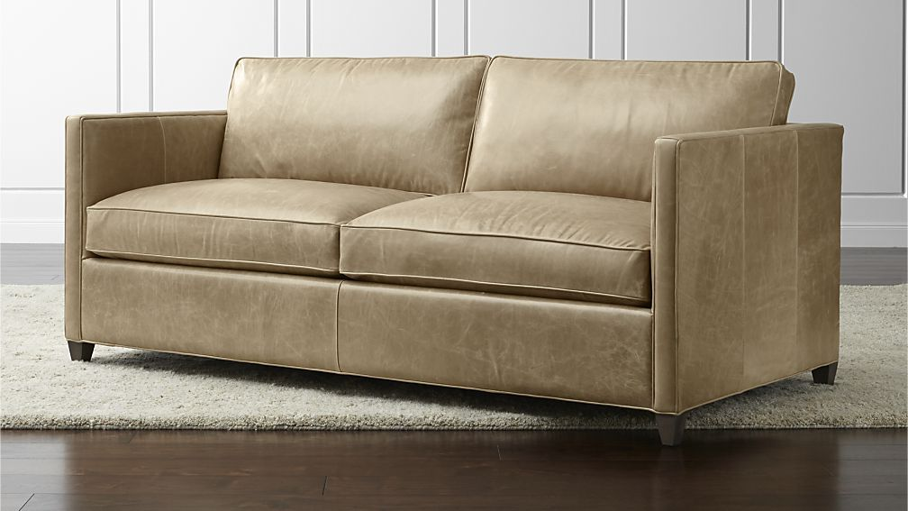 Best In Saddle Dryden Leather Full Sleeper Sofa Crate And 400 x 300