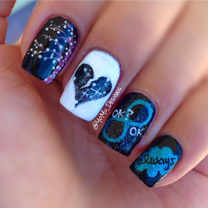 The Fault In Our Stars Nail Art By Yomu Designs