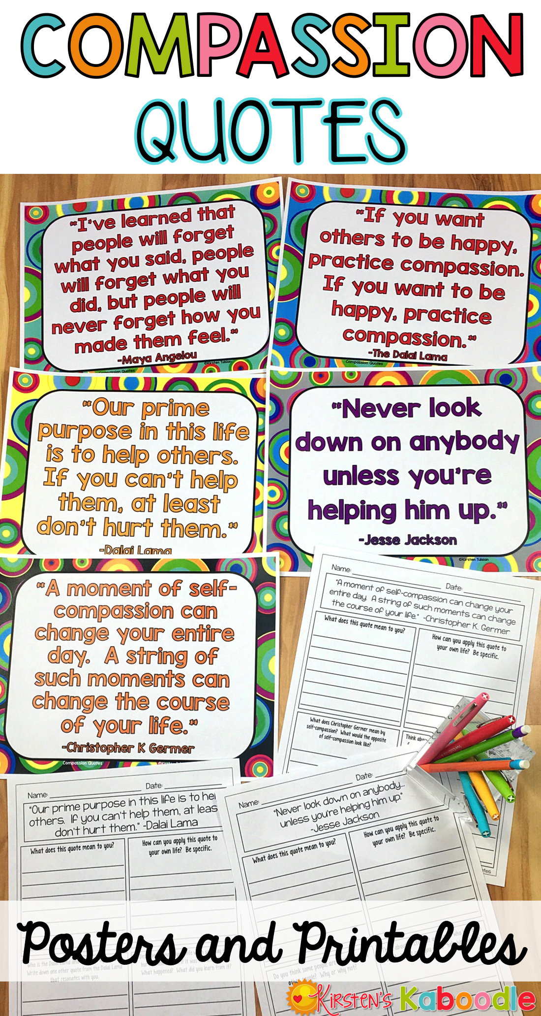 Compassion Posters