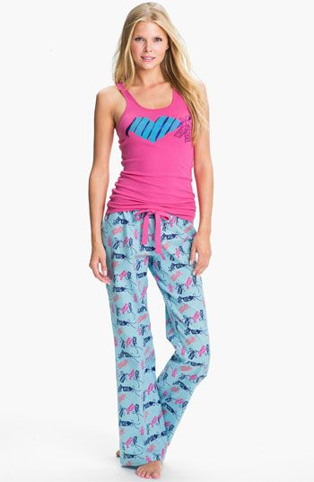 61d9b0fc12fe Make + Model Flannel Pajamas Gift set available at  Nordstrom ...
