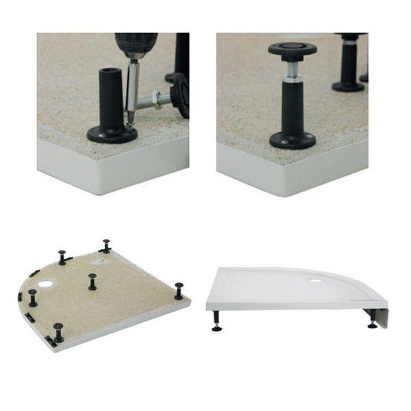 Premier Pearlstone Shower Tray Riser Kit 800 - 900mm Quadrant ...