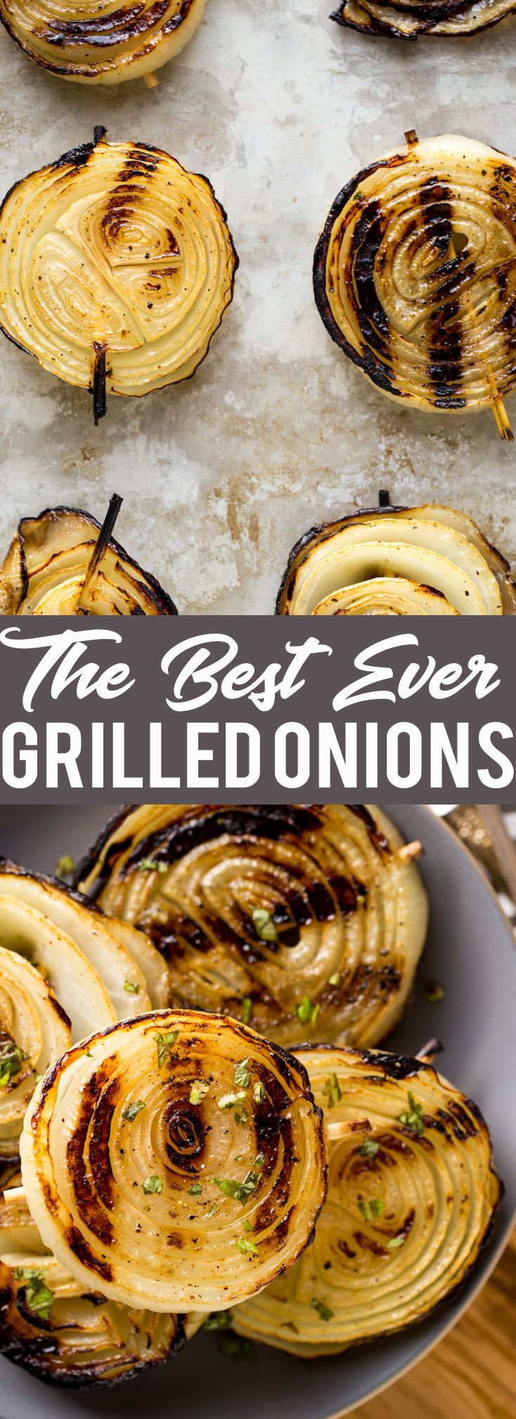 Best Ever Grilled Onions