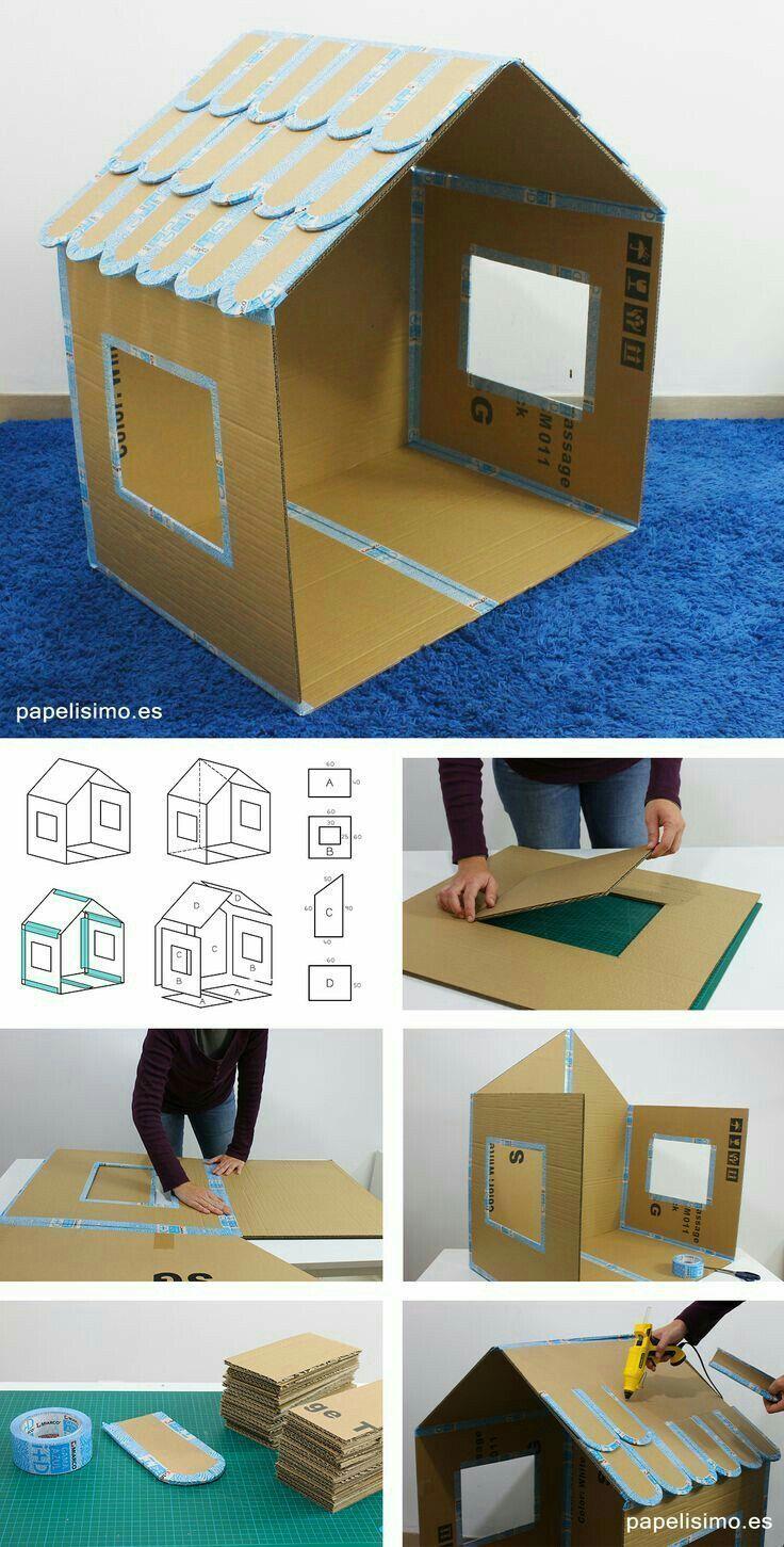 30 erstaunliche DIY Pappverpackung Mobiliar Ideen