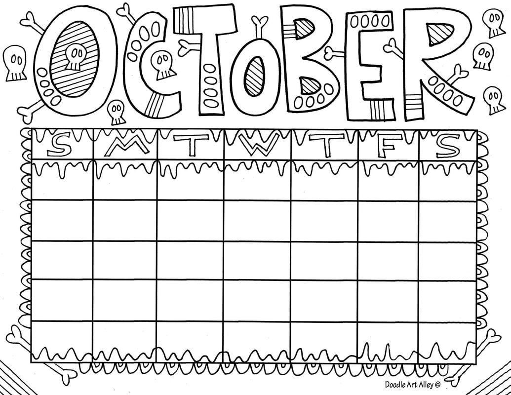October Classroom Doodles Classroom Doodles in 2020