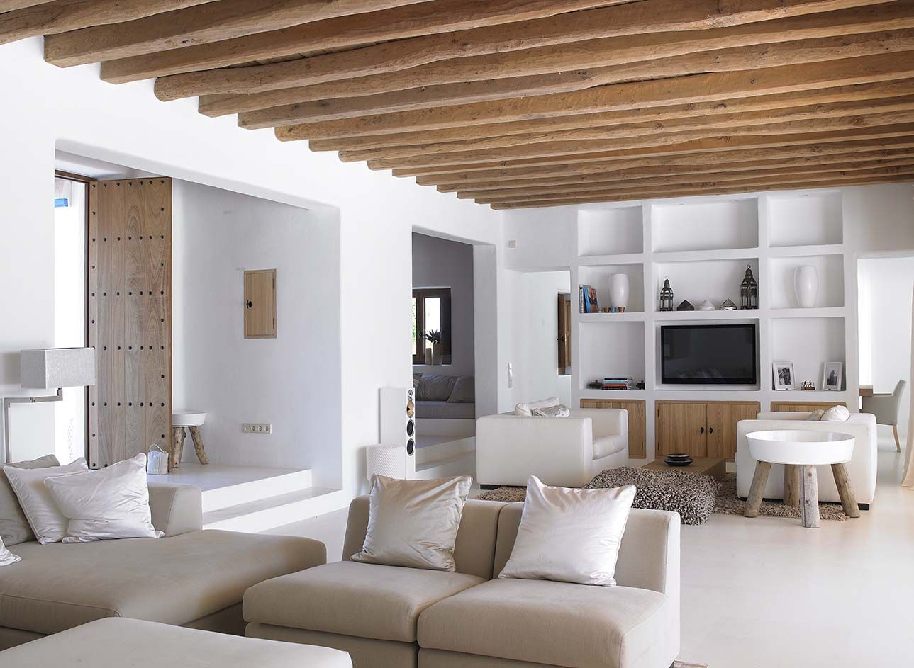 Pin by robert sinclair on ibiza blakstad pinterest interior design and house for Modern mediterranean interior design