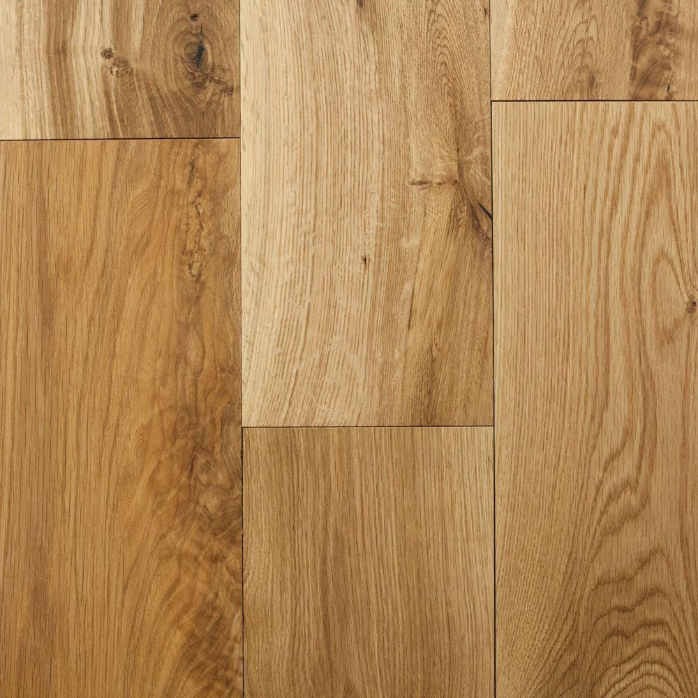 Blue Ridge Hardwood Flooring Castlebury Natural Eurosawn White Oak 1 2 In T X 7 In W X Random Length Eng Hardwood Flooring 31 Sq Ft Case 22098 The Hom Hardwood