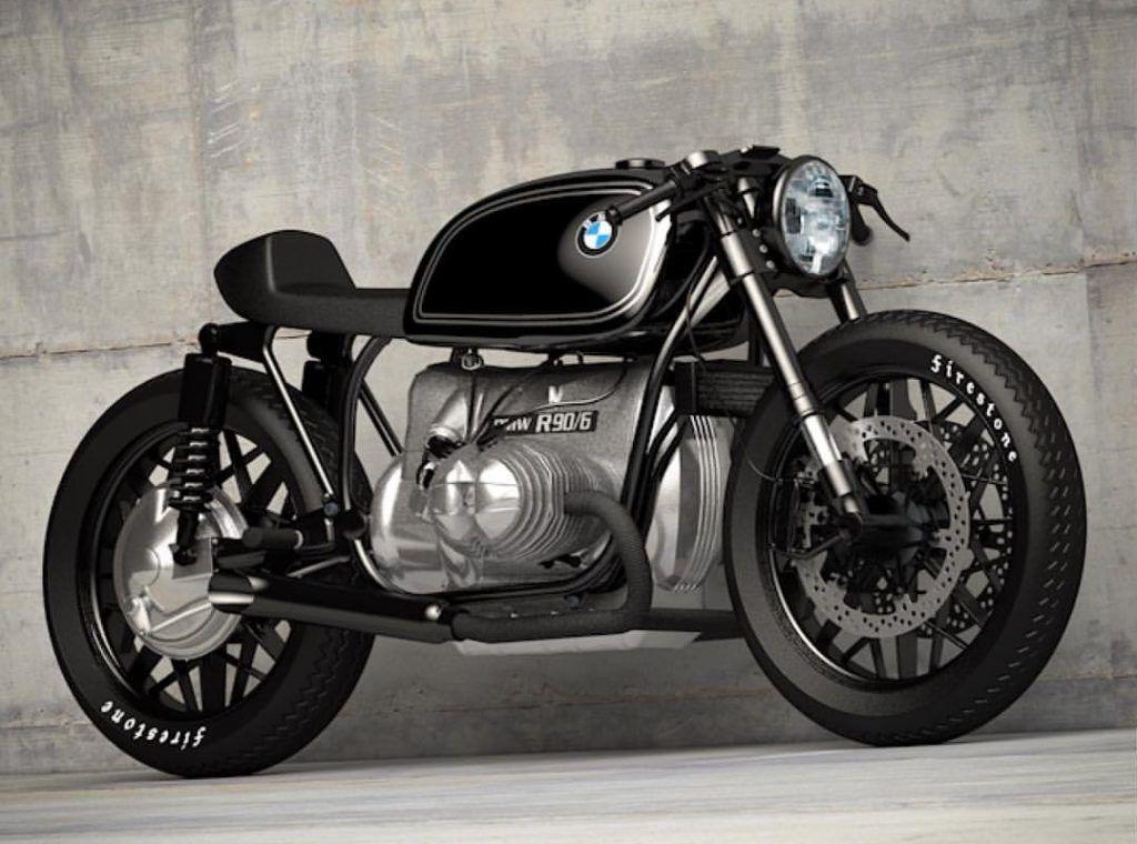 Custom BMW R90 by Ziggy Moto