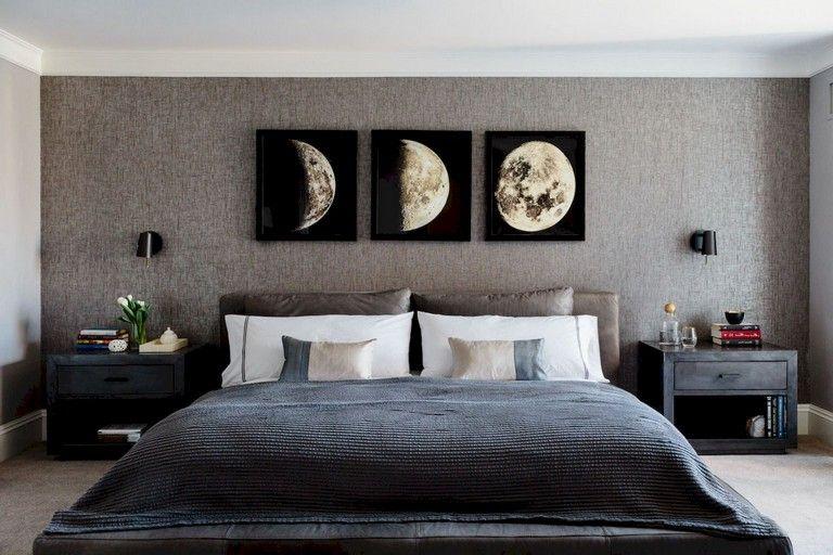 50 Stunning Creative Bedroom Wallpaper Decor Ideas Creative Bedroom Wallpaper Bedroom Wallpaper Decor Bedroom wallpaper decor ideas