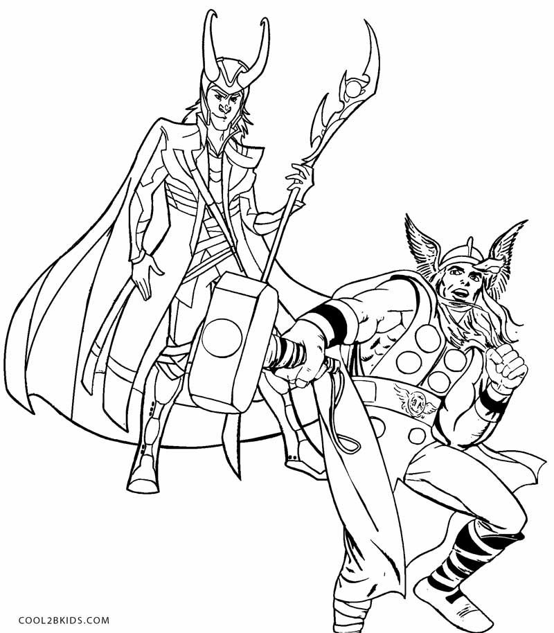 Thor Coloring Pages Marvel Coloring Coloring Pages Coloring