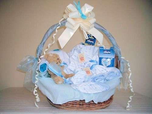 Baby Shower Decoracion Niño ~ Decoración para baby shower: ideas originales canastilla niño baby