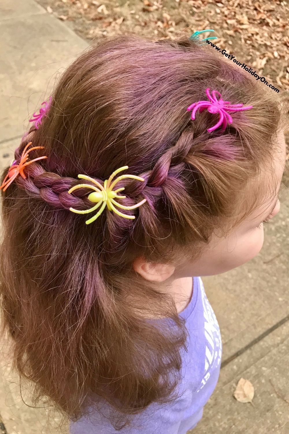 Simple and Easy Crazy Hair for School -Spirit Week | Get Your Holiday On #crazyhairdayatschoolforgirlseasy Crazy Hair Day At School Ideas | Get Your Holiday On #crazyhairday Simple and Easy Crazy Hair for School -Spirit Week | Get Your Holiday On #crazyhairdayatschoolforgirlseasy Crazy Hair Day At School Ideas | Get Your Holiday On